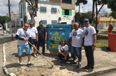 Seac-SE revitaliza praça no bairro Luzia